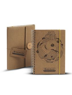 Picture of Spiral notebook, T7, recycled paper
