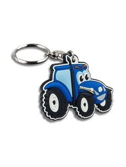 Picture of Keyring, tractor-shaped, PVC