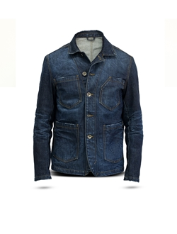 Picture of Blazer, man, dark denim