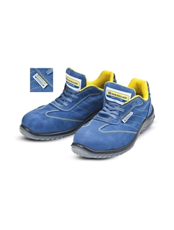 Picture of Safety shoes, nabuk, blue