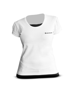 Picture of T-shirt, woman, white