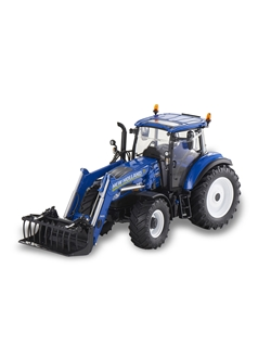 Picture of Tractor, T5.120 with front loader, 1:32