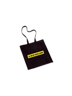 Afbeelding van BLACK COTTON SHOPPER