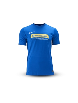 Image de T-shirt football homme, bleu