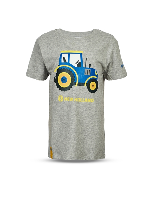 Picture of CHILDREN'S GREY TRACTOR T-SHIRT