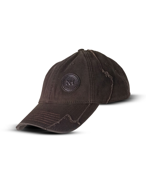 Picture of 120 years, cap, vintage, brown