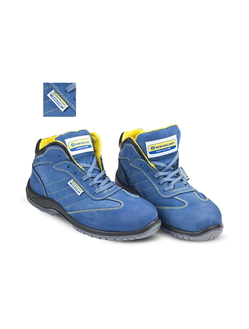 Picture of Safety boots, nabuk, blue