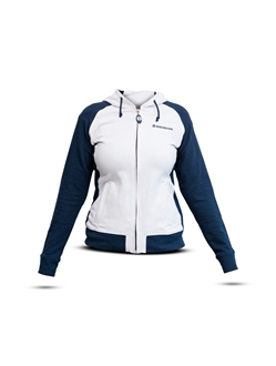 Picture of Sweatshirt, woman, white/blue