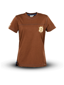 Immagine di T-shirt donna, marrone