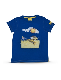 Picture of T-shirt, kids, CR, blue