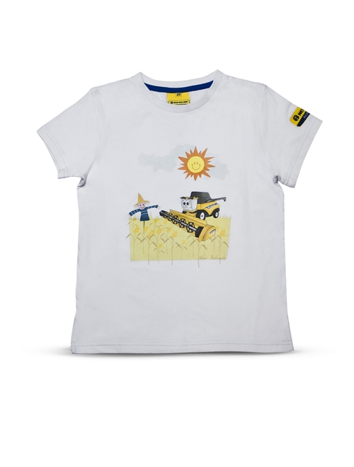 Picture of T-shirt, kids, CR, white