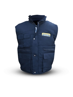 Picture of FR Body warmer, blue