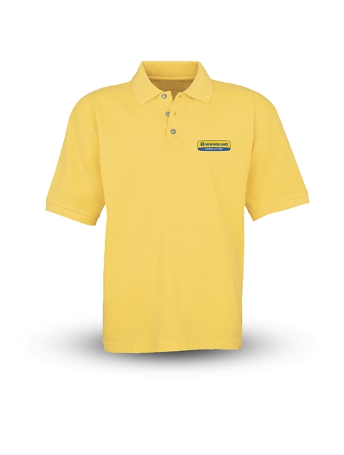 Picture of Polo shirt, man, SS, yellow