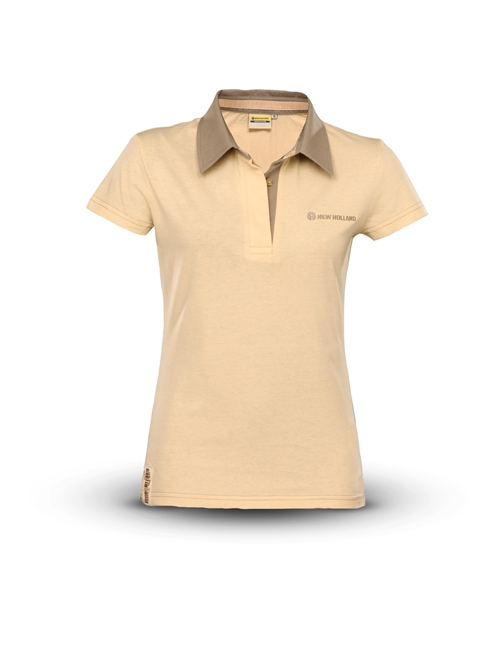 Picture of Polo shirt, woman,short-sleeved,ivory