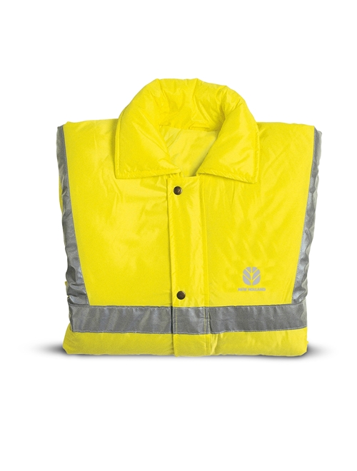 Picture of High-Visibility Yellow Safety Jacket