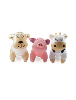 Picture of SET OF INFLATABLE FARM ANIMALS