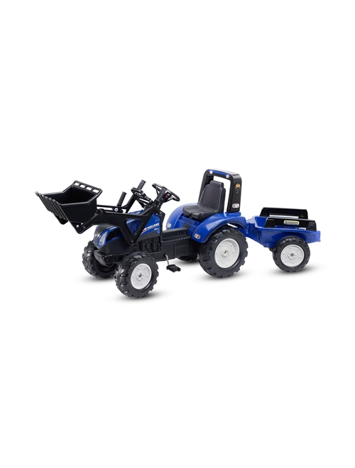 Picture of PEDAL T8 WITH TRAILER AND FRONT LOADER