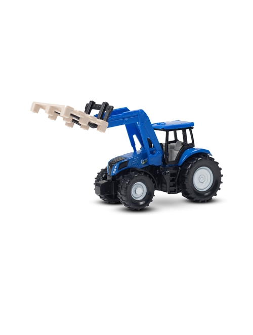 Picture of Tractor, T7070, fork and pallet, 1:87