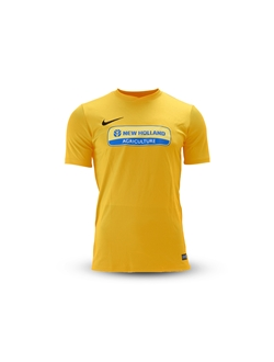 Picture of T-shirt football bimbo, gialla