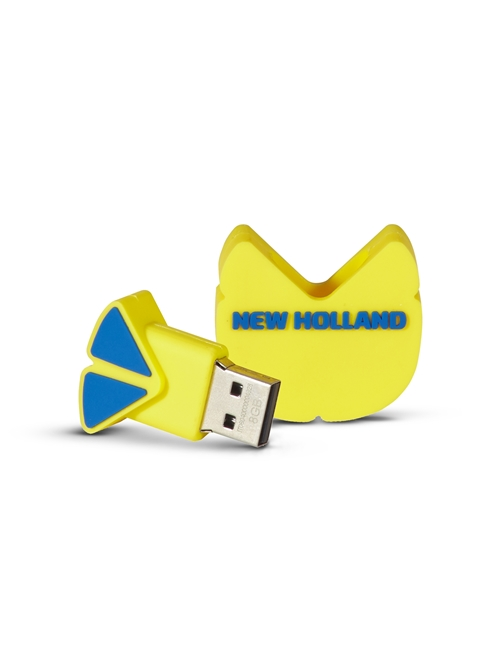 Picture of LEAF-SHAPED USB FLASH DRIVE, 8GB