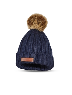 Picture of WOMEN'S FLUFFY BALL BEANIE