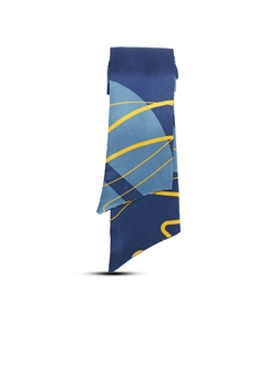 Picture of Silk scarf, blue