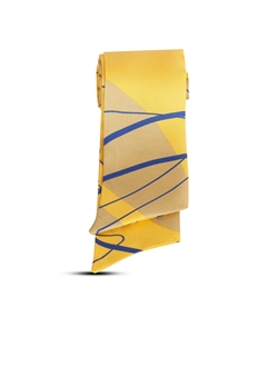 Picture of Silk scarf, yellow