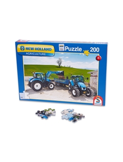 Immagine di Children puzzle, New Holland T6AC + T5EC, 200 pcs