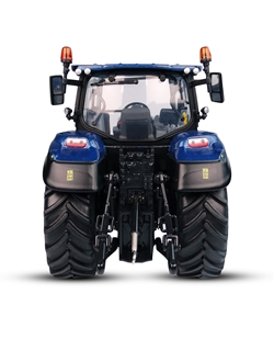 Picture of Tractor, T5.140 Hi-vis low roof, Blue Power, 1:32