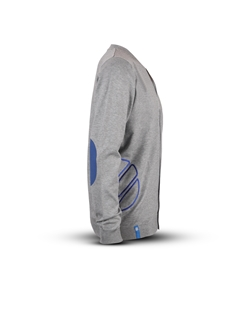 Picture of Men's cardigan with blue details