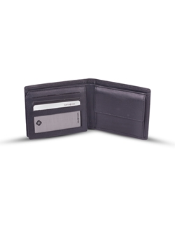 Picture of Leather wallet, black