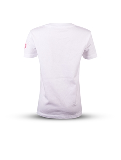 Picture of Girl's basic white T-shirt
