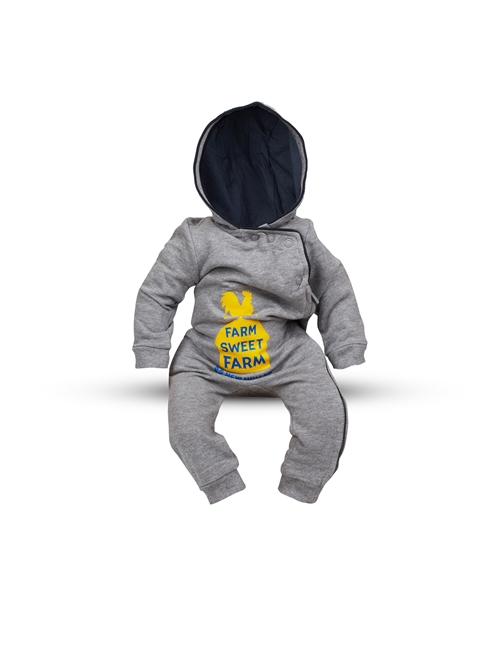 Picture of Baby's hooded onesie