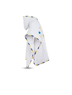Picture of Boy's baby hooded poncho towel