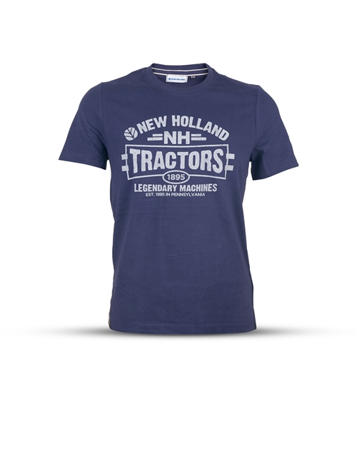 Picture of Men's tractor T-shirt, blue