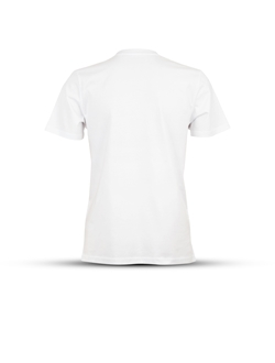 Picture of White basic T-shirt, T7 HD